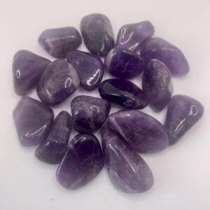 Amethyst tumblestone