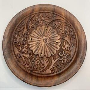 wooden carved incense holder